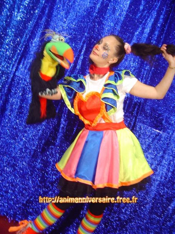 clownette en spectacle